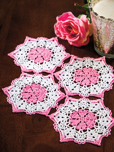 Marvelous Crochet Motifs, featuring over 35 projects for fashion, home and gift-giving.