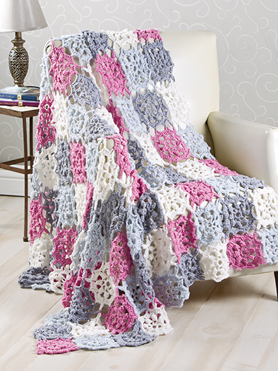 Marvelous Crochet Motifs, featuring over 35 projects for fashion, home and gift-giving