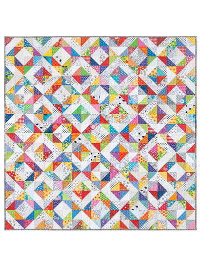 Colorful scrap quilts to make