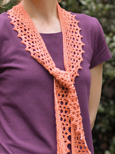 Crochet Scarf Patterns Tiffany Scarf Crochet Pattern