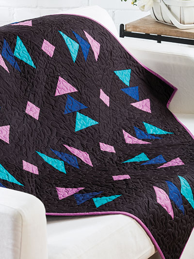 Bright and bold summer quilt pattern