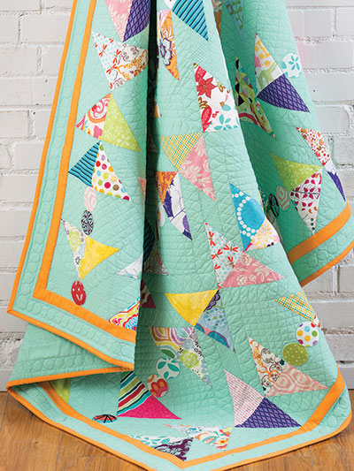 Beautiful bright summer quilting patterns