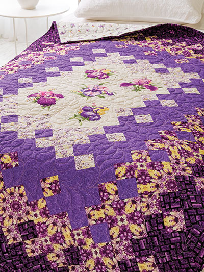 Pretty in Purple Summer Quilt Pattern