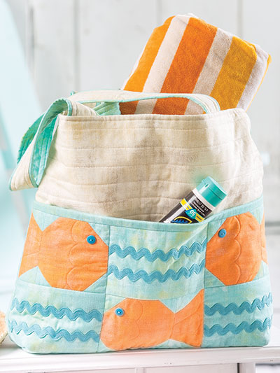 Summer Quilt Patterns and Totes