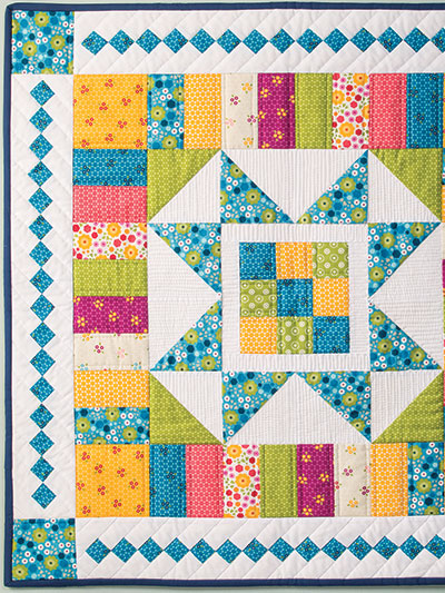 Beautiful summer quilt wall hanging pattern