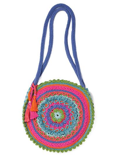 Crochet Patterns Annies Signature Designs Mandala Bag Crochet