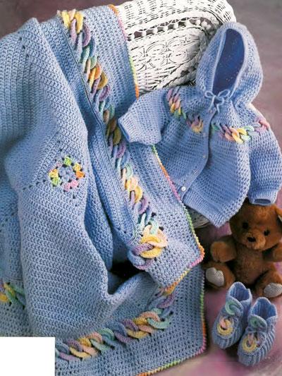 Crochet Patterns Baby Rings Layette