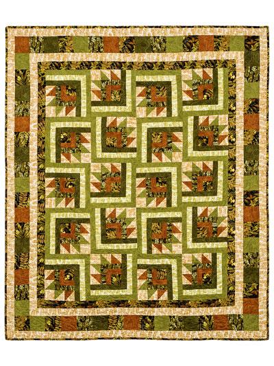 Quilt Patterns - A Hint of Fall Quilt Pattern : fall quilt - Adamdwight.com