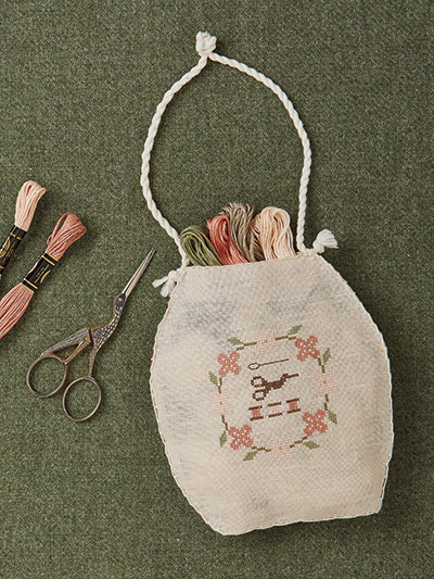 Cross stitch thread holder pattern