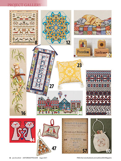 23 Cross Stitch patterns to download