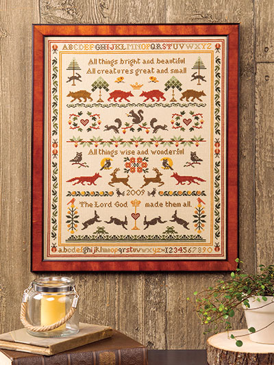 Summer cross stitch patterns download
