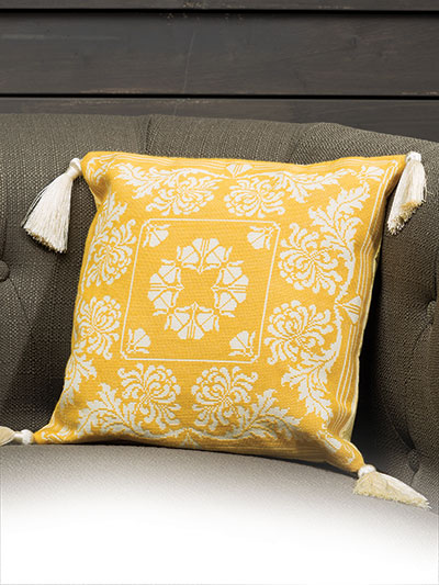 Cross stitch pillow design pattern