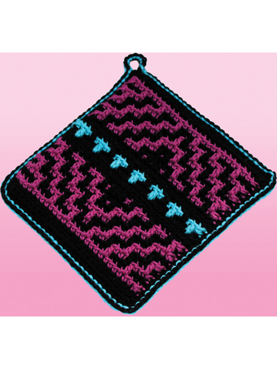 Crochet Native American Potholders