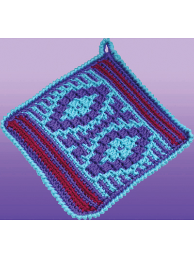Native American Potholders to Crochet