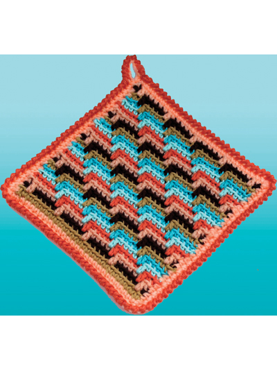 Crochet Native American Potholders Patterns
