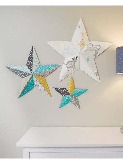 Fabriflair Wall Art Stars Sewing Pattern. loading. Perfect for the nursery or any other room! & New Sewing Patterns - Fabriflair Wall Art Stars Sewing Pattern