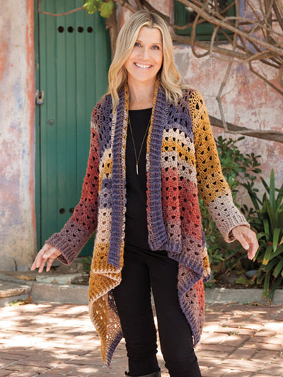 Our Favorite Crochet Sweater Patterns Euphoria Cardi Crochet Sweater Pattern