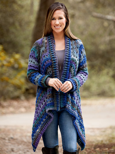 Favorite Crochet Easy Cardigan Sweater Patterns