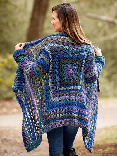 Crochet a Euphoria Cardigan Sweater Pattern