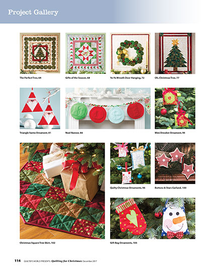 Best Quilting Patterns for Christmas