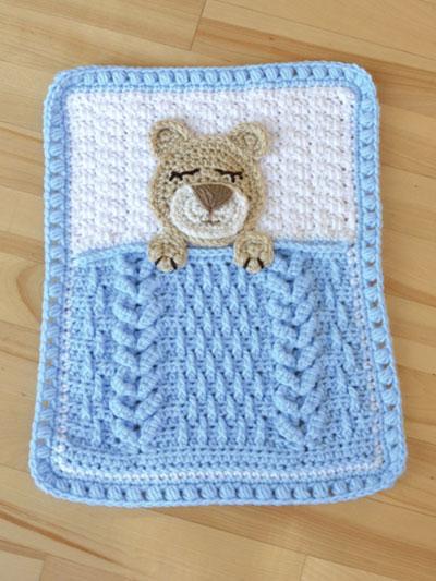 18 Lovey Crochet Blanket Patterns for Baby   AllFreeCrochet.com   533x400