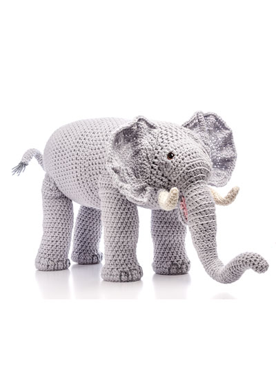 Crochet Safari Elephant Pattern
