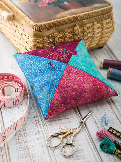 Easy to sew pincushion pattern
