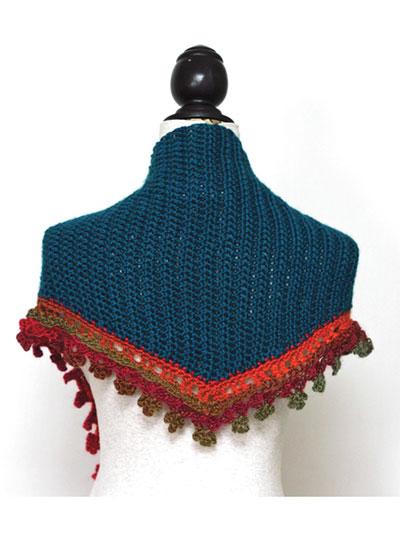 Crochet Scarf Patterns Fire On Ice Baktus Scarf Crochet Pattern