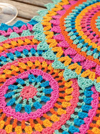 Crochet Patterns Annies Signature Designs Palmeras Place Mats