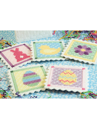 Easter Coasters in Plastic Canvas Patterns
