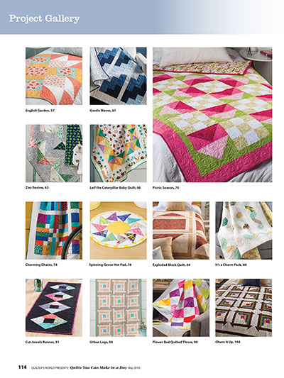 Quilts that you can make in a day