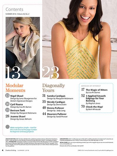 Creative Knitting Magazines Creative Knitting Summer 2018