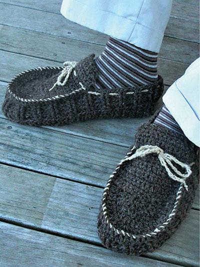 Crochet Slipper Patterns Mens Slippers Crochet Pattern