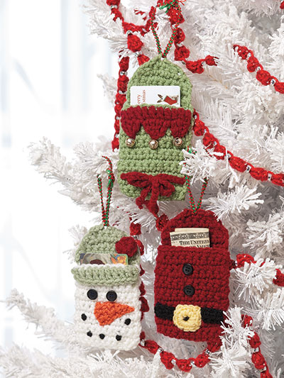 Crochet fast and easy gift card holders or cash holder pattern