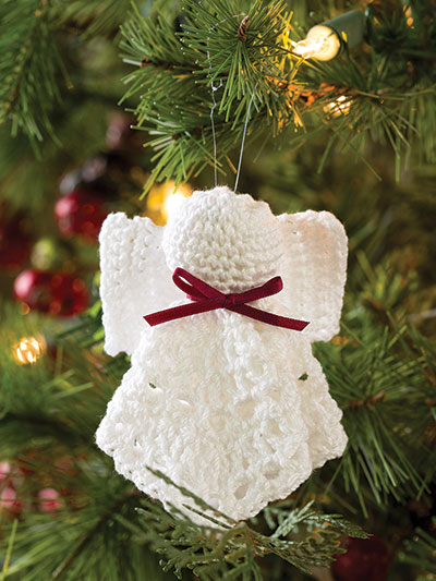 Crochet angel ornament fast and easy crochet patterns