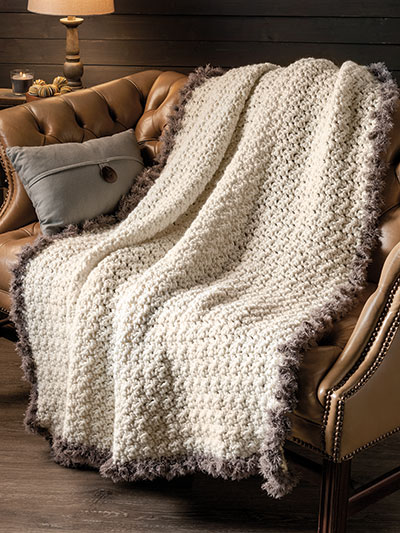 Quick and easy afghan to Crochet