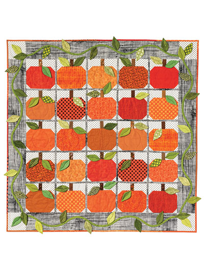 Pumpkin Harvest Fall quilt pattern