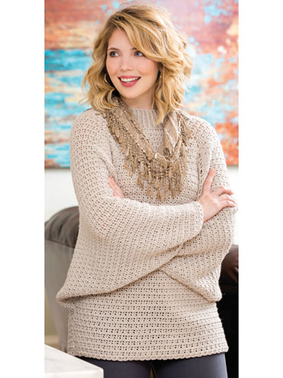 26cd0145c Alternating double crochet and front post treble stitches creates a  textured cobblestone pattern!