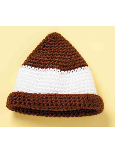 Football hat crochet pattern for baby
