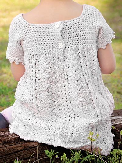 d8988f0d80bb9 Baby & Kids Crochet Clothing - A Dress For All Seasons Crochet Pattern