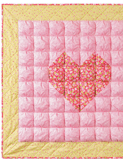 Puffy baby quilt pattern
