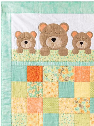 Sweet Dreams Baby Bear Quilt Pattern