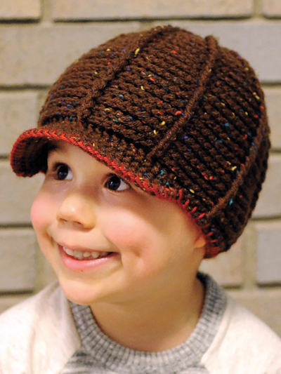 b69722b9b66 Stitch a cute derby hat to keep the ears warm during outside play in the  cold! Technique  Crochet