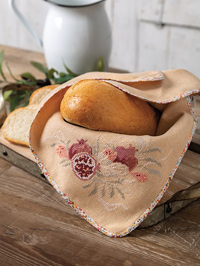 Cross Stitch Bread Cloth Pattern