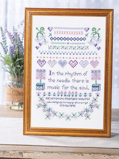 Cross Stitch Sampler Pattern