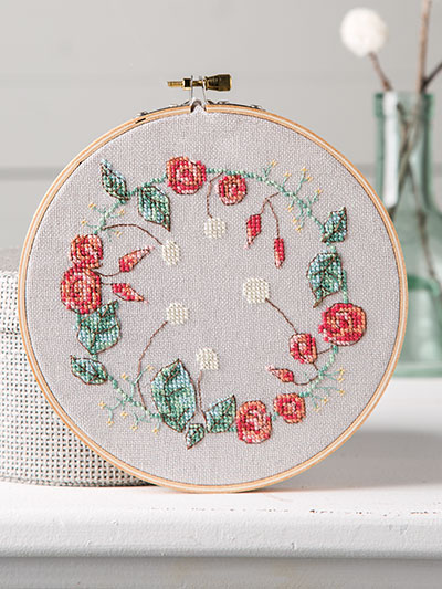 Cross Stitch Floral Pattern