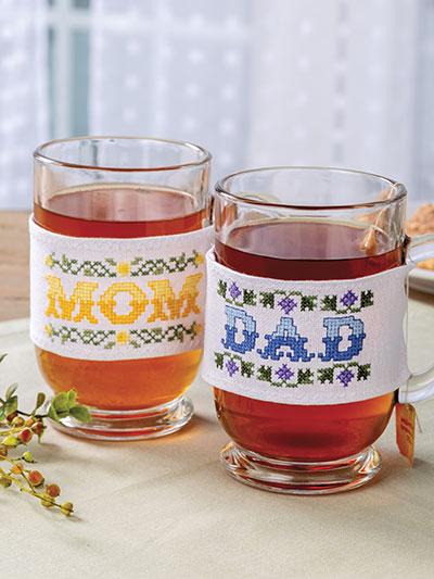 Cross Stitch Mom Dad gift patterns