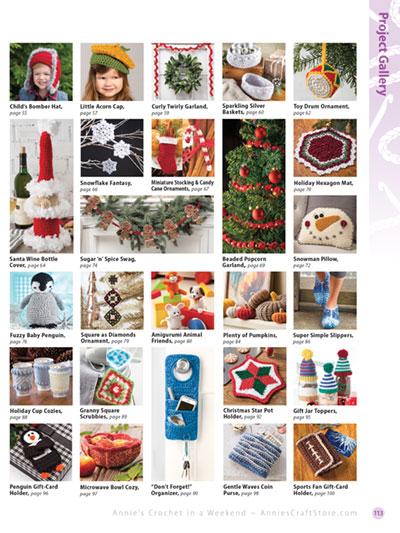 Crochet in a Weekend Gifts