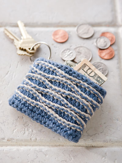 Crochet quick gifts change purse