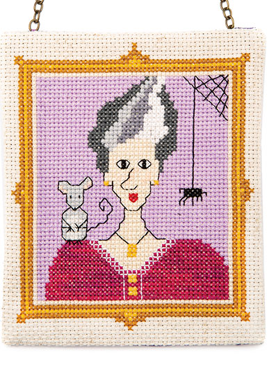Halloween Bride Cross stitch Pattern